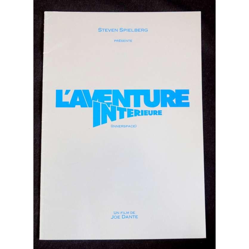 INNERSPACE French Pressbook 20p 8x11 - 1987 - Joe Dante, Dennis Quaid
