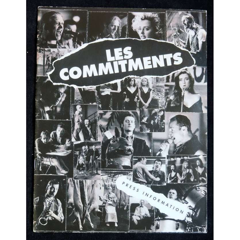 THE COMMITMENTS French Pressbook 24p 8x11 - 1991 - Alan Parker, Robert Arkins