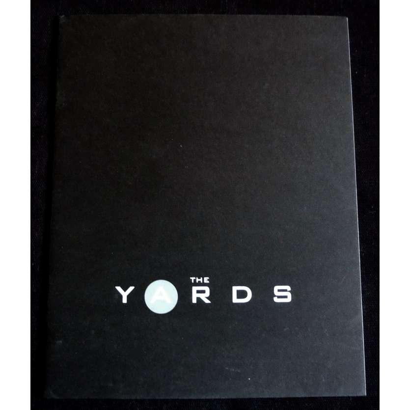 THE YARDS French Pressbook 40p 7x10 - 2000 - James Gray, Joaquim Phoenix