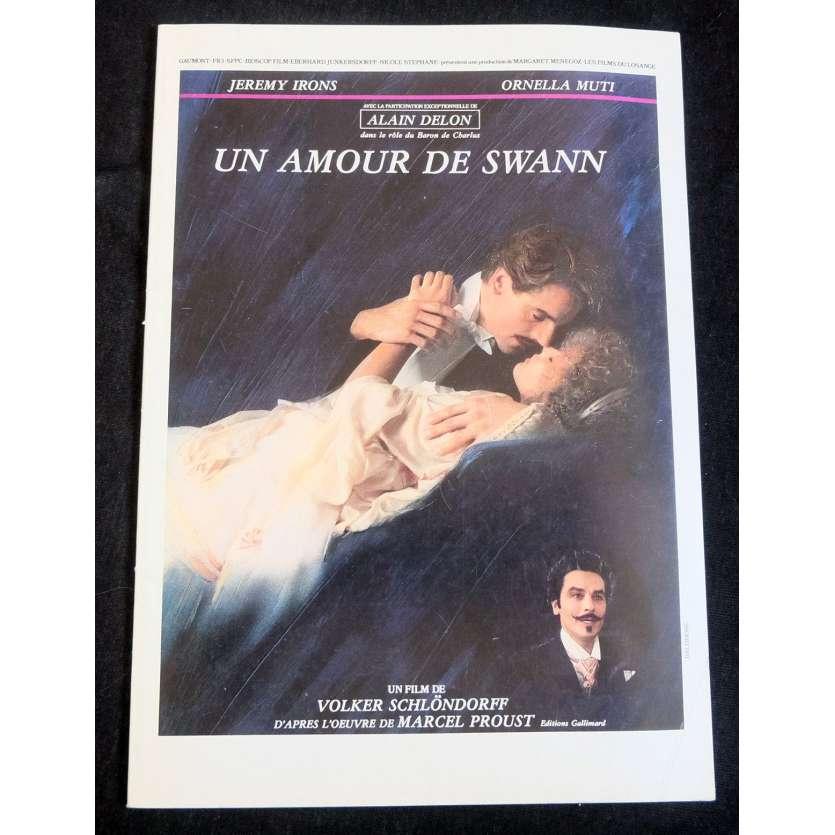 UN AMOUR DE SWANN Dossier de presse 50p 20x30 - 1984 - Jeremy Irons, Volker Schlöndorff