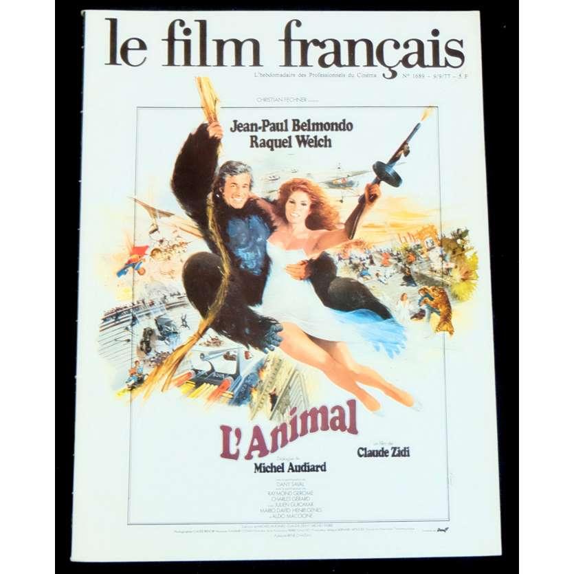 LE FILM FRANÇAIS N1689 Magazine 40p 20x30 - 1977 - De Funes, Montand, Belmondo