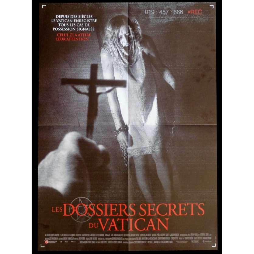 LES DOSSIERS SECRETS DU VATICAN Affiche de film 40x60 - 2015 - Djimoun Hounsou, Marc Neveldine