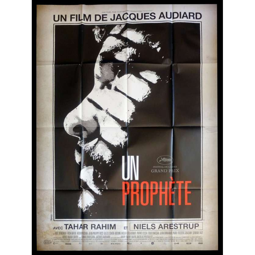 A PROPHET French Movie Poster 47x63 - 2009 - Jacques Audiard, Tahar Rahim