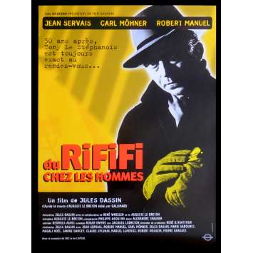 RIFIFI French Movie Poster 15x21 - R2015 - Jules Dassin, Jean Servais