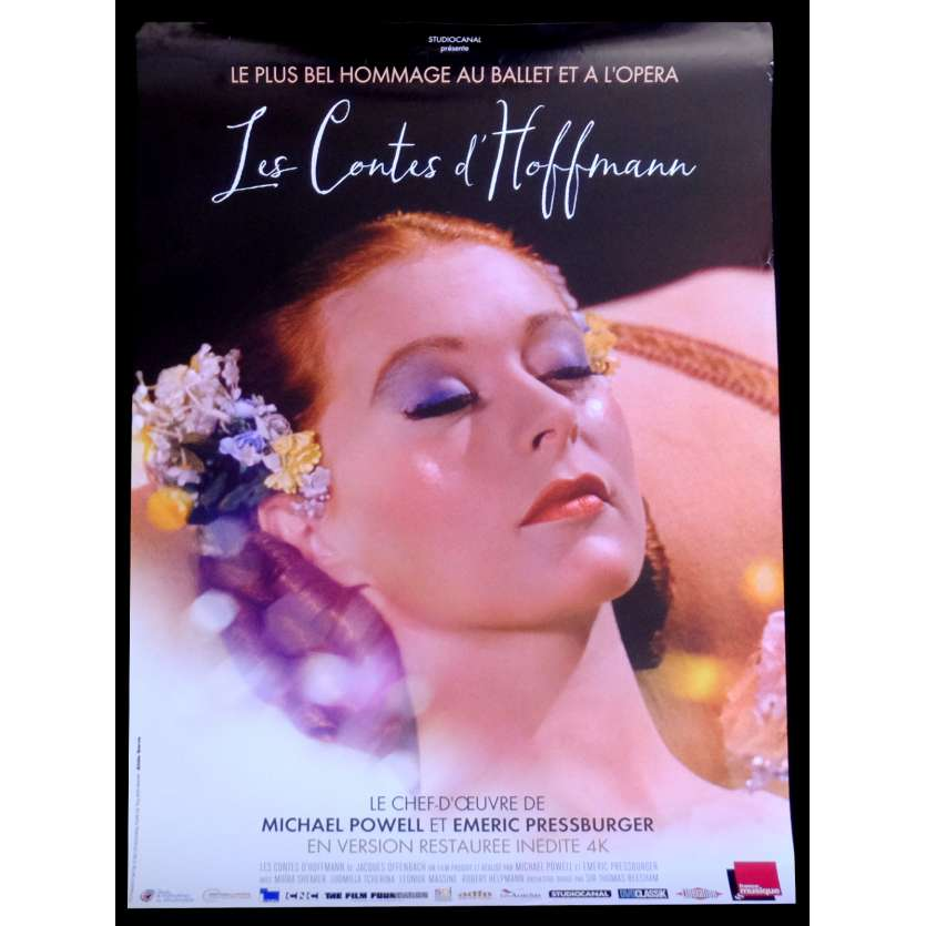 LES CONTES D'HOFFMAN French Movie Poster 15x21 - R2015 - Powell Pressburger, Ludmilla Cherina