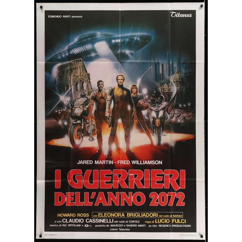 ROME 2072 AD: THE NEW GLADIATORS Italian Movie Poster 39x55 - 1983 - Lucio Fulci, Fred Williamson