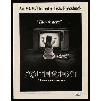 POLTERGEIST Dossier de presse 18p 22x28 - 1982 - Heather o'rourke, Steven Spielberg