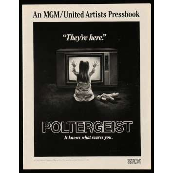 POLTERGEIST US Pressbook 18p 8x11 - 1982 - Steven Spielberg, Heather o'rourke