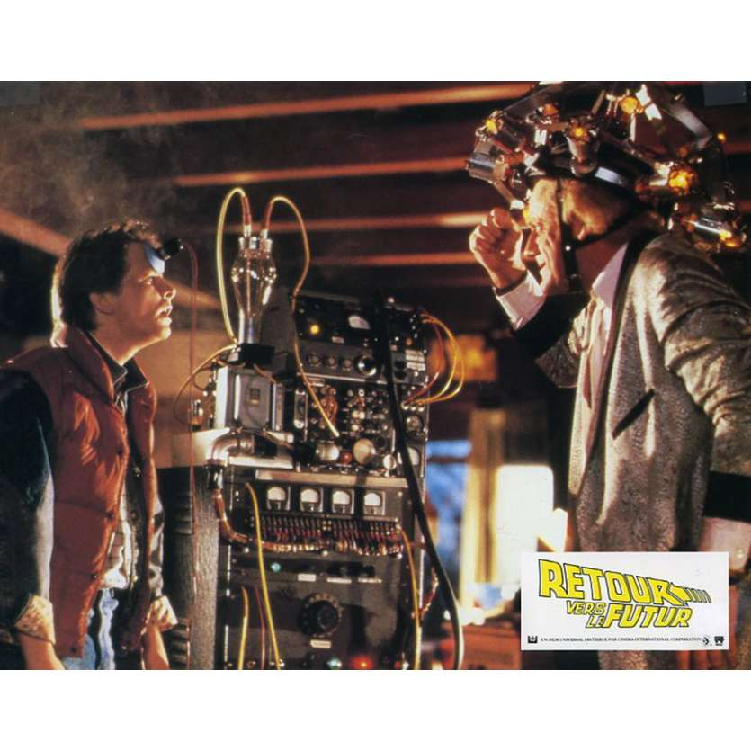 BACK TO THE FUTURE French Lobby Card N10 9x12 - 1985 - Robert Zemeckis, Michael J. Fox