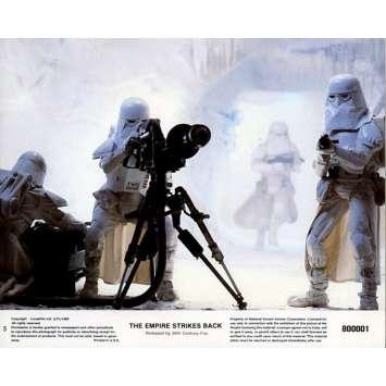STAR WARS - EMPIRE STRIKES BACK US Lobby Card N6B 8x10 - 1980 - George Lucas, Harrison Ford