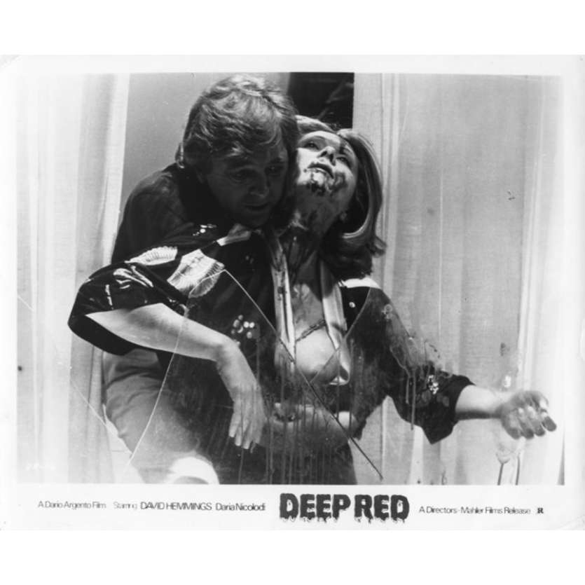 LES FRISSONS DE L'ANGOISSE Photo de presse N2 20x25 - 1974 - David Hemmings, Dario Argento