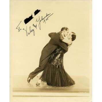 YELOZ AND YOLLANDA US Signed Still 8x10 - 1930'S - ,