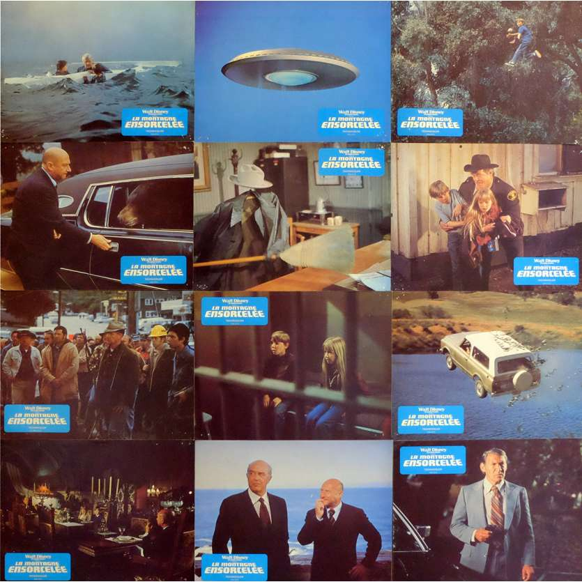 ESCAPE FROM WITCH MOUTAIN French Lobby Cards x20 9x12 - 1975 - John Hough, Eddie Albert