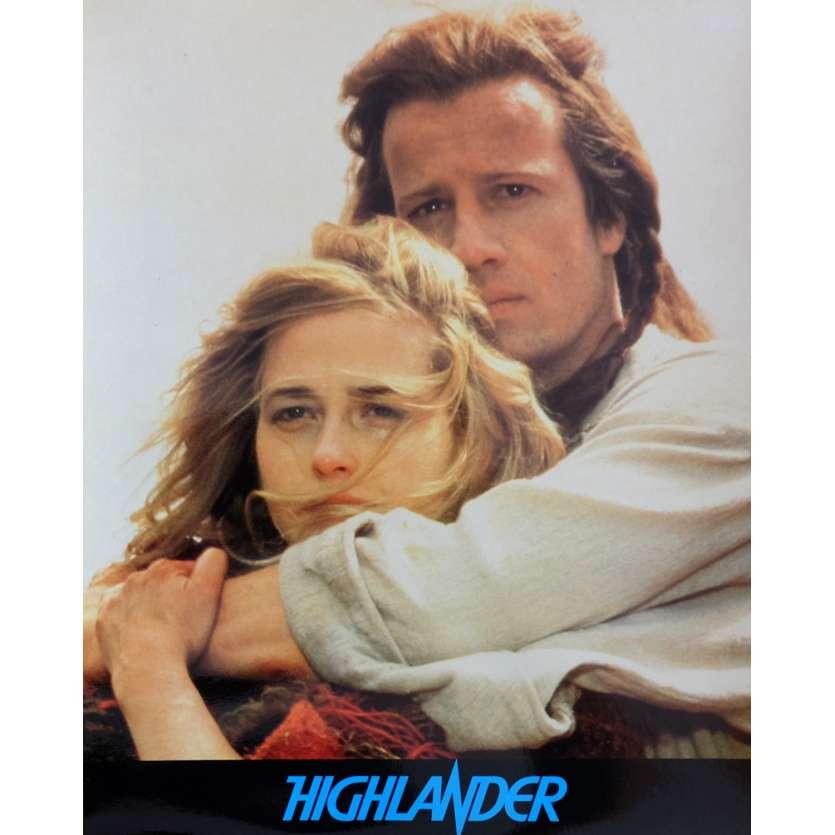 HIGHLANDER French Deluxe Lobby Card N3 10x12 - 1985 - Russel Mulcahy, Christophe Lambert
