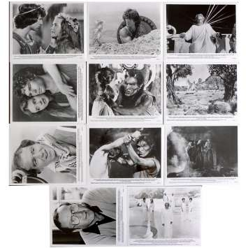 CLASH OF THE TITANS French Press stills x10 9x12 - 1981 - Desmond Davis, Lawrence Oliver