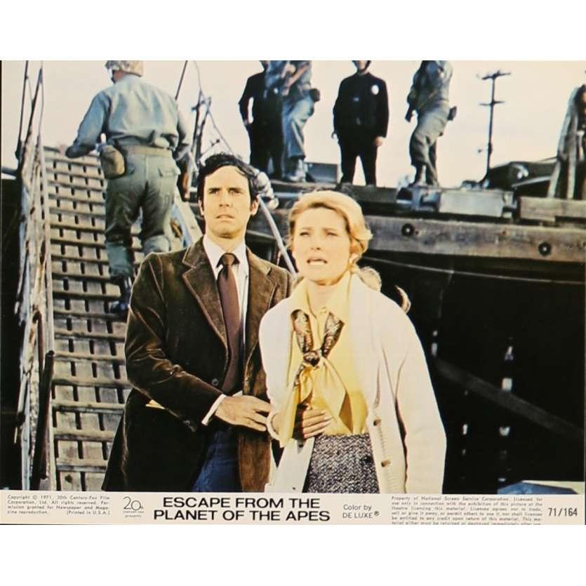 LES EVADES DE LA PLANETE DES SINGES Photo de film N2 20x25 cm - 1971 - Roddy McDowall, Don Taylor