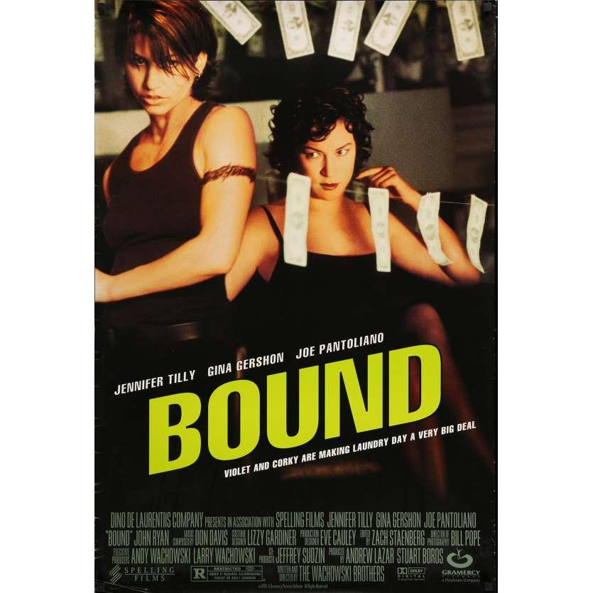 BOUND Affiche de film 69x104 cm - 1996 - Gina Gershon, Wachowski Bros