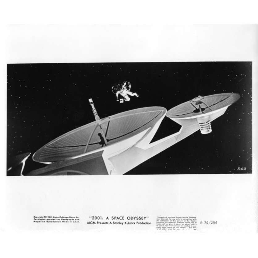2001 L'ODYSSEE DE L'ESPACE Photo de presse N7 20x25 cm - R1974 - Keir Dullea, Stanley Kubrick