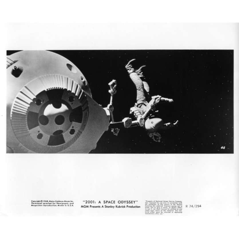 2001 L'ODYSSEE DE L'ESPACE Photo de presse N5 20x25 cm - R1974 - Keir Dullea, Stanley Kubrick