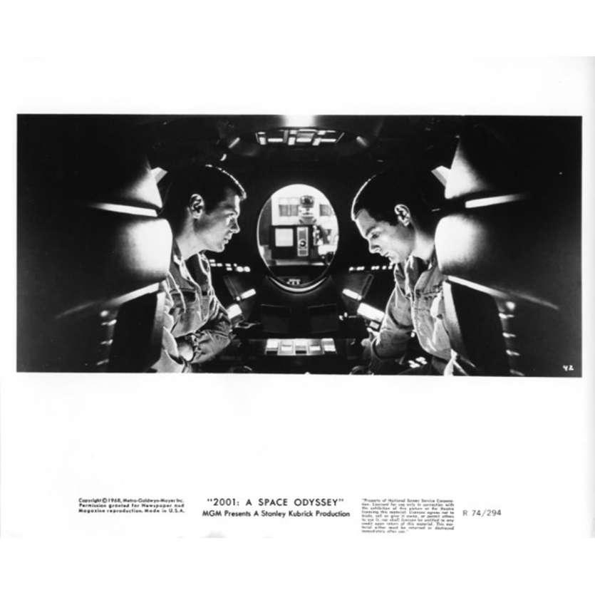 2001 L'ODYSSEE DE L'ESPACE Photo de presse N3 20x25 cm - R1974 - Keir Dullea, Stanley Kubrick