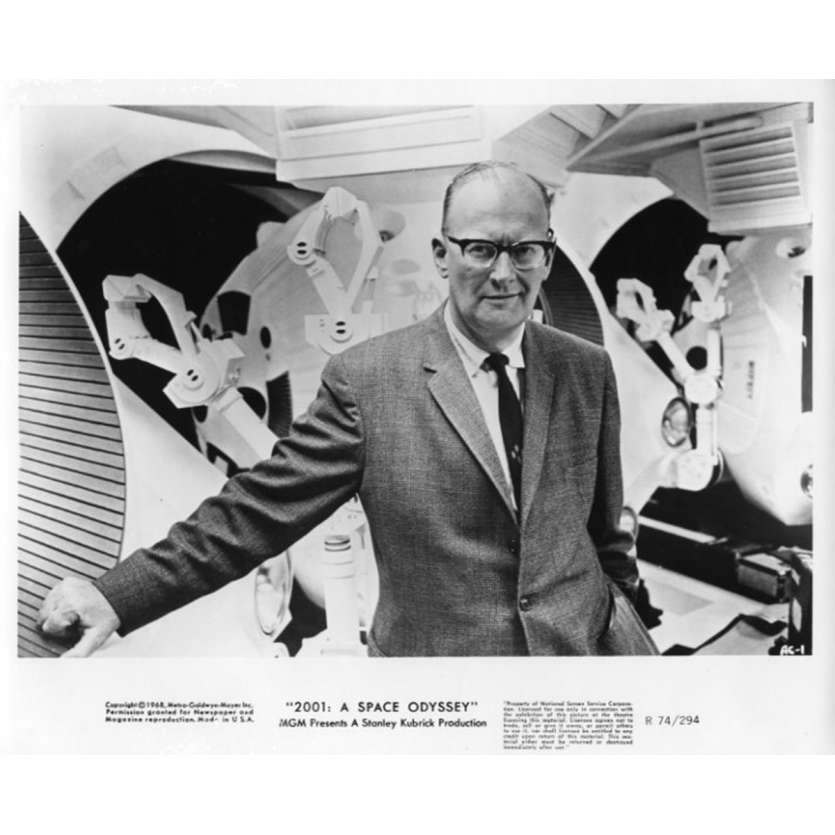 2001 L'ODYSSEE DE L'ESPACE Photo de presse N2 20x25 cm - R1974 - Keir Dullea, Stanley Kubrick