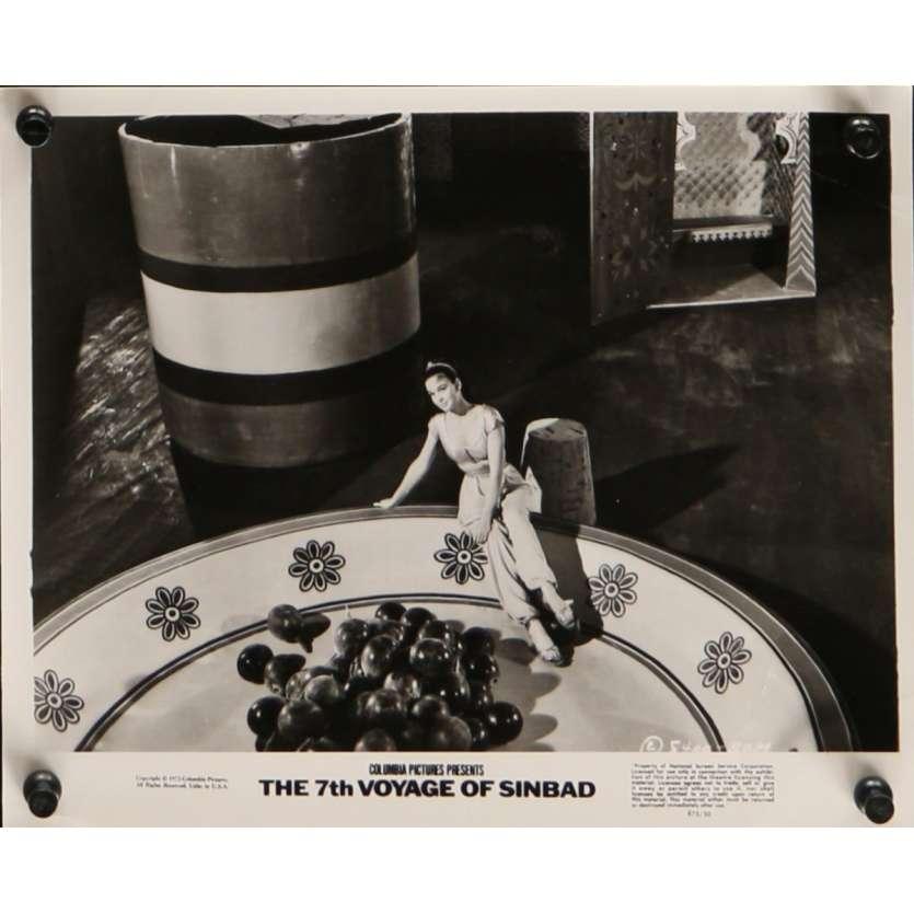 7th VOYAGE OF SINBAD Movie Still N8 8x10 in. USA - R1975 - Ray Harryhausen, Kervin Mathews