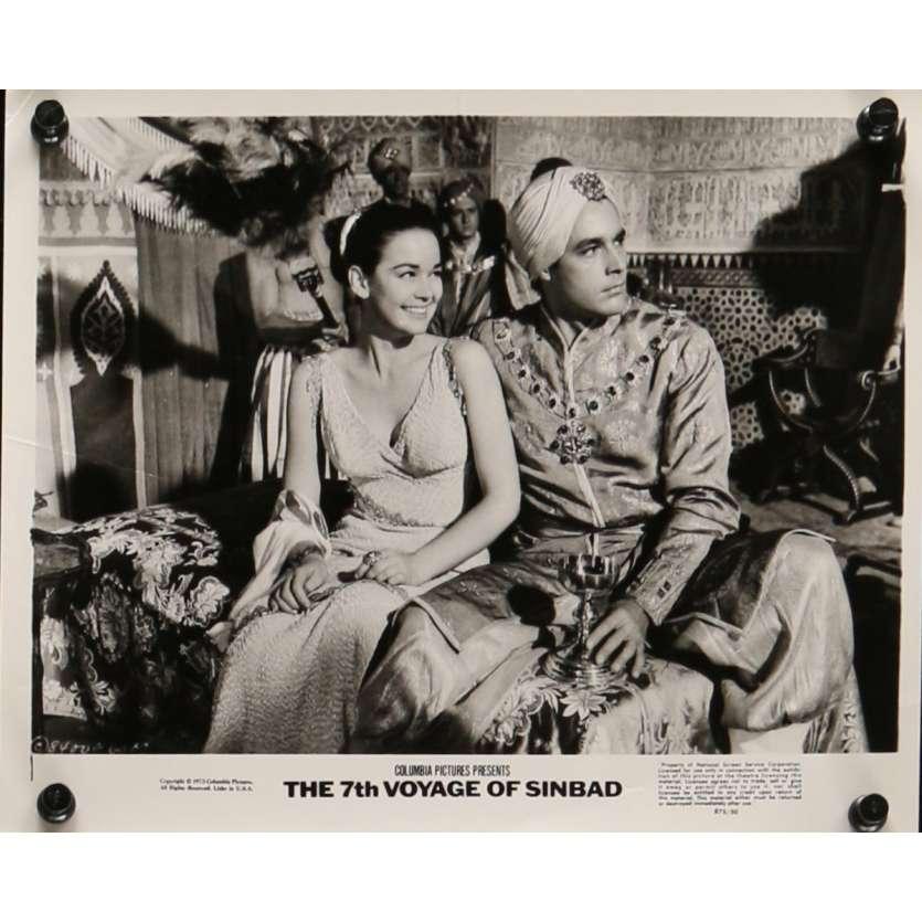 7th VOYAGE OF SINBAD Movie Still N2 8x10 in. USA - R1975 - Ray Harryhausen, Kervin Mathews