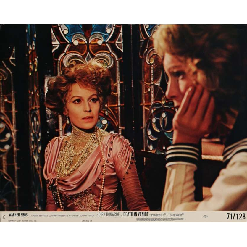 DEATH IN VENICE Lobby Card N3 8x10 in. USA - 1971 - Luchino Visconti, Dirk Bogarde