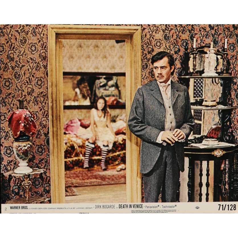 MORT A VENISE Photo de film N2 20x25 cm - 1971 - Dirk Bogarde, Luchino Visconti