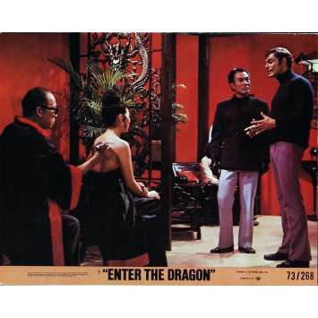 ENTER THE DRAGON Lobby Cards N4 8x10 in. USA - 1973 - Robert Clouse, Bruce Lee