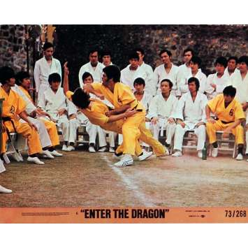 ENTER THE DRAGON Lobby Cards N2 8x10 in. USA - 1973 - Robert Clouse, Bruce Lee
