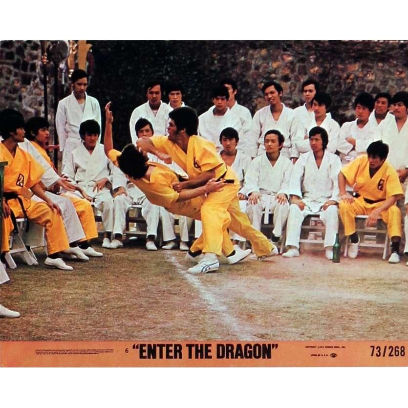 OPERATION DRAGON Photos de film N2 20x25 cm - 1973 - Bruce Lee, Robert Clouse