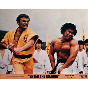 ENTER THE DRAGON Lobby Cards N1 8x10 in. USA - 1973 - Robert Clouse, Bruce Lee