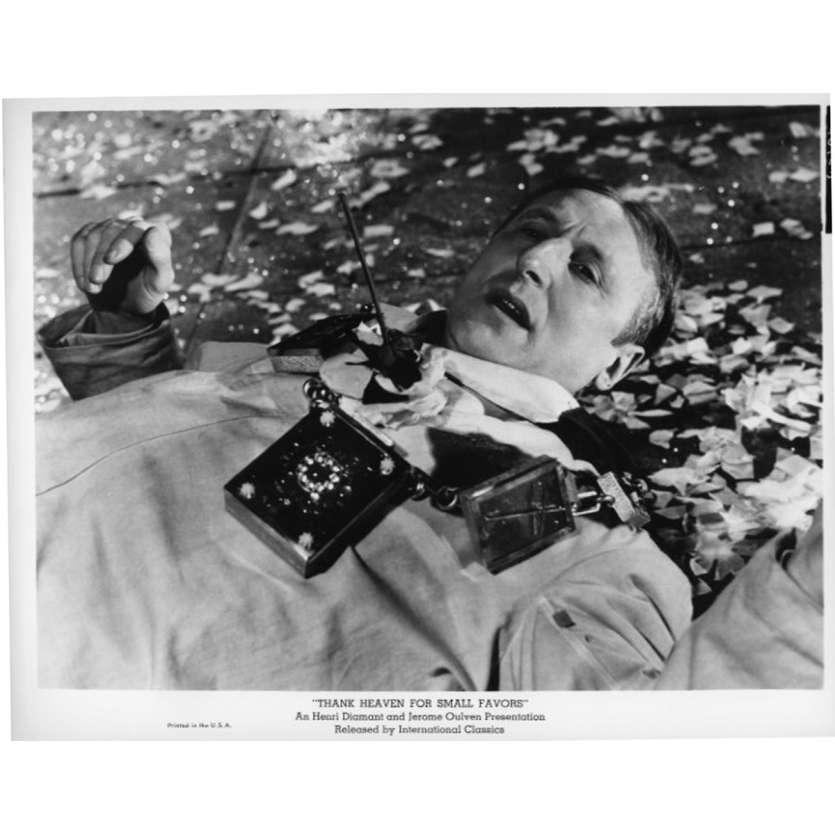 UN DROLE DE PAROISSIEN Photo de presse N4 20x25 cm - 1965 - Bourvil, Jean-Pierre Mocky