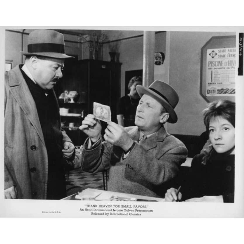 UN DROLE DE PAROISSIEN Photo de presse N9 20x25 cm - 1965 - Bourvil, Jean-Pierre Mocky