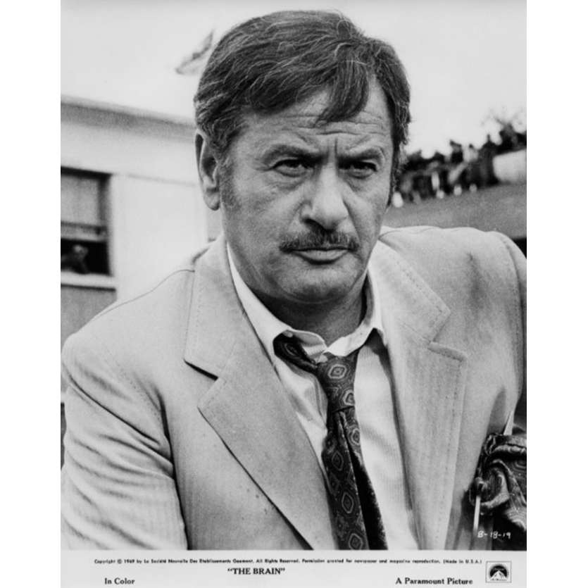 LE CERVEAU Photo de presse N1 20x25 cm - 1969 - Jean-Paul Belmondo, Gérard Oury