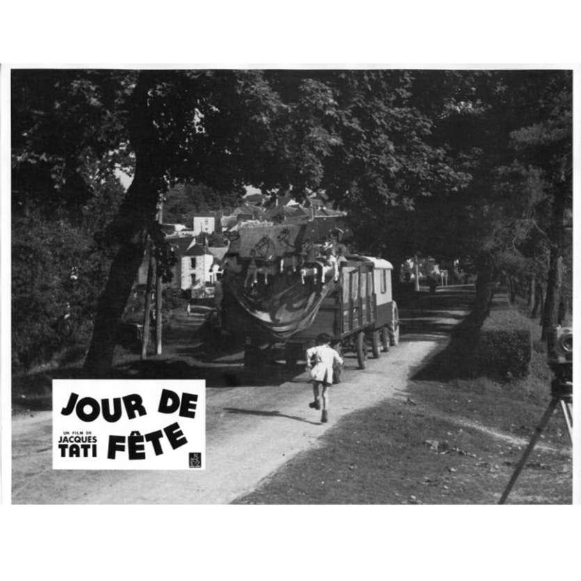 JOUR DE FETE Lobby Card N2 9x12 in. French - 1960'S - Jacques Tati, Paul Frankeur