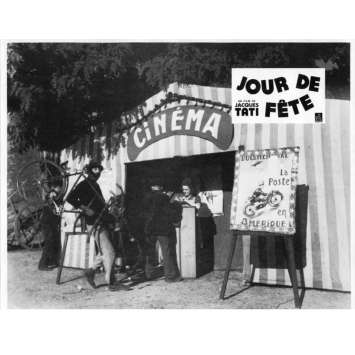 JOUR DE FETE Lobby Card N10 9x12 in. French - 1960'S - Jacques Tati, Paul Frankeur