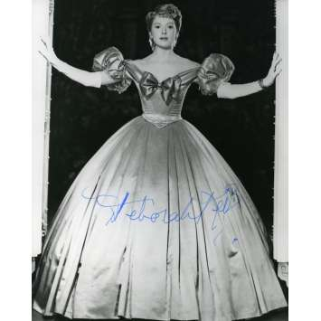 DEBORAH KERR Signed Photo 8x10 in. USA - 1960'S - ,