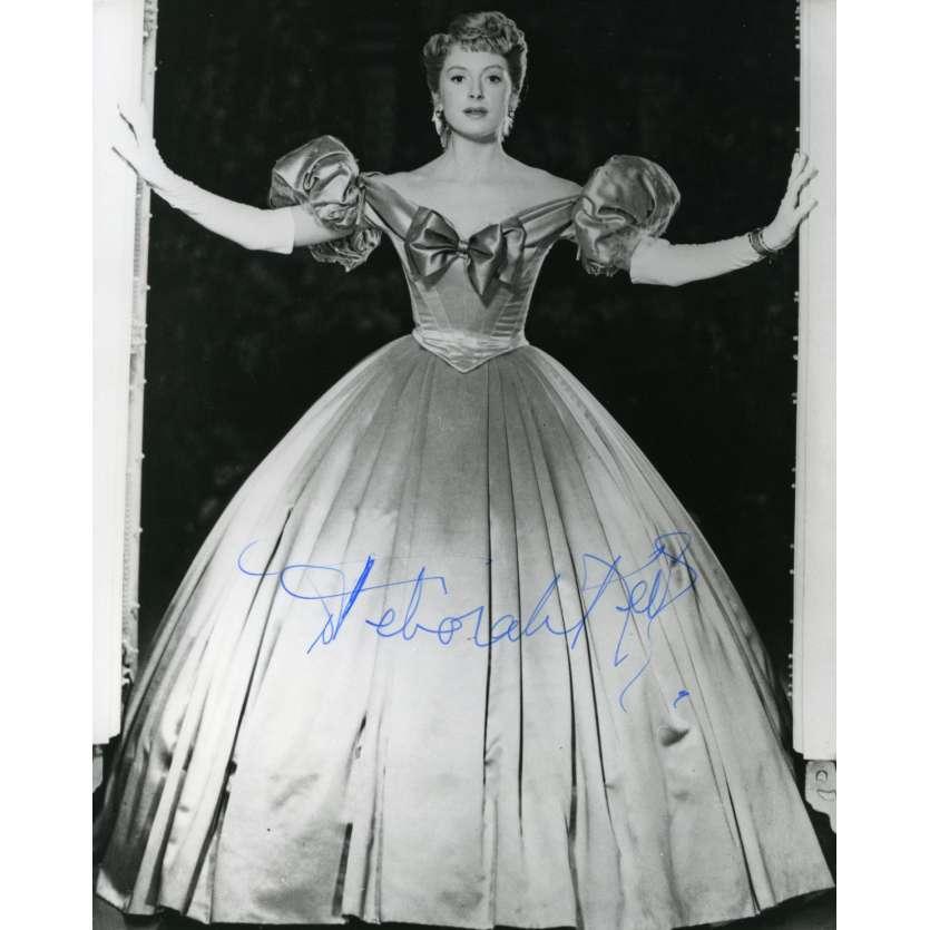 DEBORAH KERR Signed Photo 8x10 in. USA - 1960'S - ,