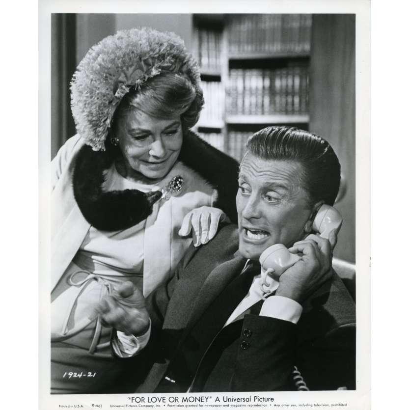 FOR LOVE OR MONEY Movie Still N2 8x10 in. USA - 1963 - Michael Gordon, Kirk Douglas
