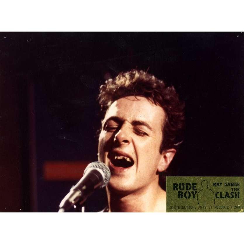 RUDE BOY Lobby Card N4 7x9 in. French - 1980 - Ray Gange, The Clash