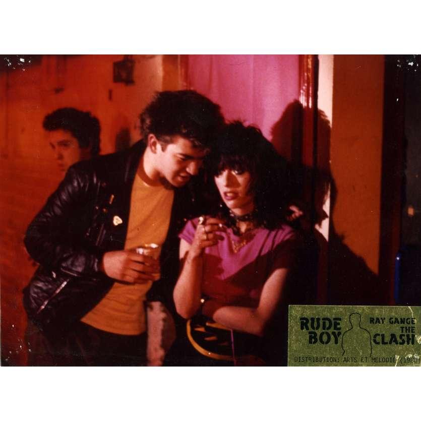 RUDE BOY Lobby Card N2 7x9 in. French - 1980 - Ray Gange, The Clash