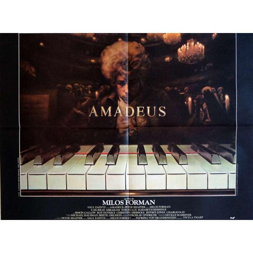 AMADEUS Movie Poster 23x32 in. French - 1984 - Milos Forman, F. Murrray Abraham