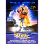 BACK TO THE FUTURE II Movie Poster  47x63 in. French - 1989 - Robert Zemeckis, Michael J. Fox
