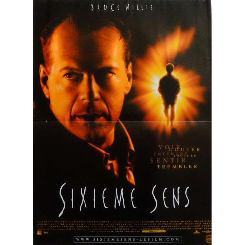 THE SIXTH SENSE Movie Poster 15x21 in. French - 1999 - M. Night Shyamalan, Bruce Willis