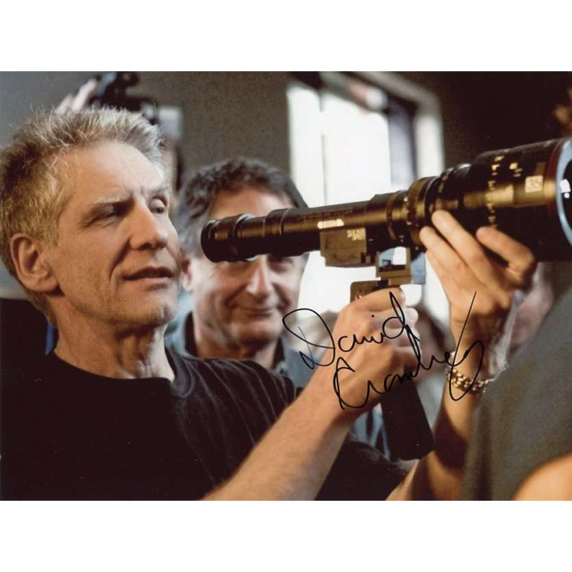 DAVID CRONENBERG Signed Photo 8x10 in. French - 2000 - ,