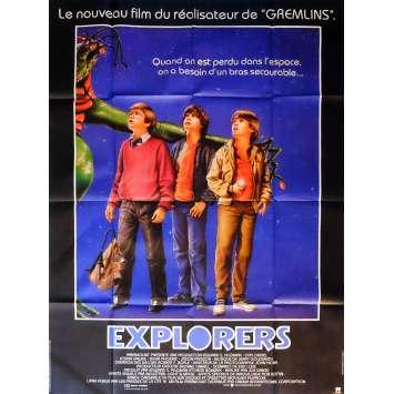 EXPLORERS Movie Poster 47x63 in. French - 1985 - Joe Dante, Ethan Hawke