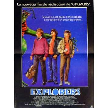 EXPLORERS Affiche de film 40x60 cm - 1985 - Ethan Hawke, Joe Dante