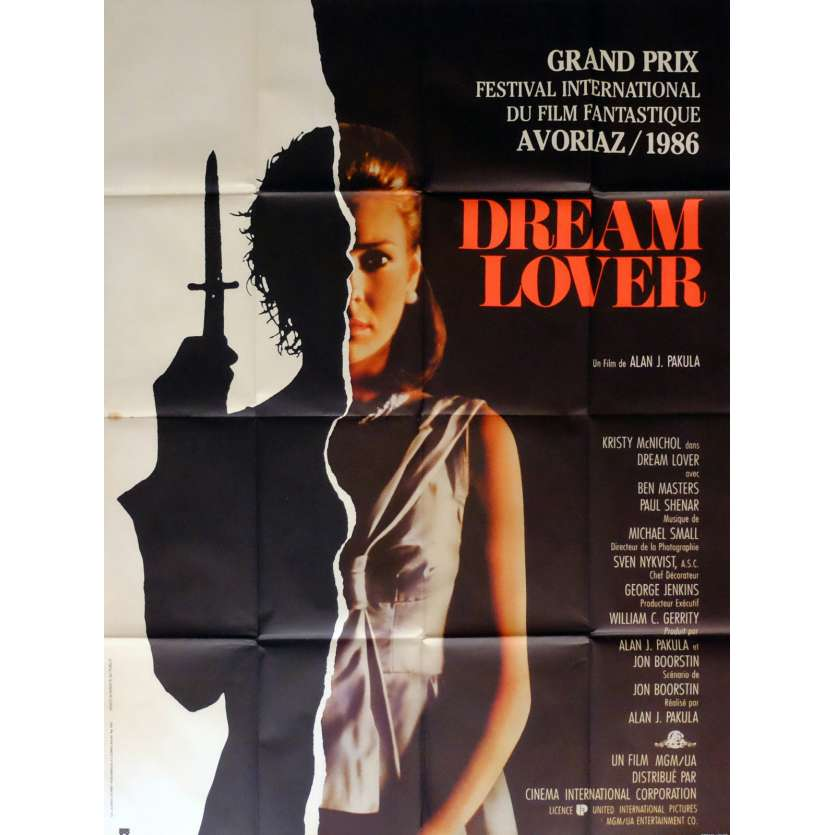 DREAM LOVER Movie Poster 47x63 in. French - 1986 - Alan J. Pakula, Kristy McNichol